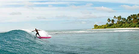 Maldives Surf Package